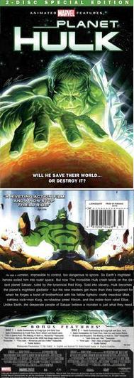 Planet Hulk DVD2